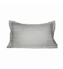 Just Linen Ivory Cotton 18 x 27 Pillow Cover - Set of 2