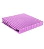 Just Linen Lilac Satin Single Size Flat Bedsheet - Set of 4