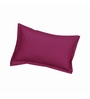 Just Linen Pink Cotton 18 x 27 Pillow Cover - Set of 2