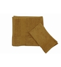 Just Linen Tan Cotton 16 x 24 Hand Towel - Set of 2