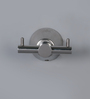 Jwell Silk Silver Stainless Steel 3.1 x 2.8 x 2 Inch Clothes Hook