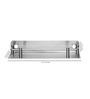 Jwell Silver Stainless Steel Bathroom Shelf
