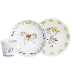 Kahla 3 Piece Fairy Tale With Magic Grip Crockery Set