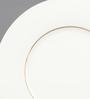 Kahla Magic Grip Line of Gold Diner Porcelain Dessert Plate