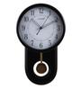 Kaiser Black Wooden 10 x 2 x 15 Inch Wall Clock