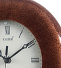 Kaiser Cola Wooden 9.1 Inch Round Wall Clock