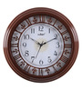 Kaiser Walnut Wooden 13.2 Inch Round Wall Clock