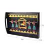Kalaplanet Royal Maharaja Hand-painted Wooden Tray