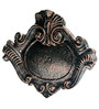Karara Mujassme Victorian Style Antique Gold Cast Iron Name Plate