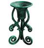 Karara Mujassme Victorian Style Hand-Crafted Antique Green Cast Iron Planter
