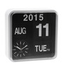 Karlsson Black & White Plastic Double-Sided Wall & Table Clock