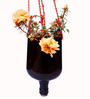 Kavi Recycled Oval Hanging planter