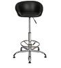 Kaykay Bar Chair In Black Color By The Furniture Store