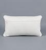 KEH Multicolour Cotton & Wool 12 x 20 Inch Motif Cushion Cover