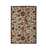 KEH Multicolour Wool Artistic & Hand Embroidered Area Rug
