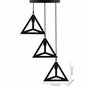 Kenshodesigners Black Metal Pendant Light