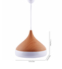 Camilia Pendant in Brown and White by CasaCraft