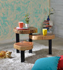Joda Coffee Table in Natural Finish by Bohemiana