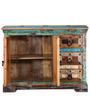 Adele Medium Sideboard in Distress Finish by Bohemiana