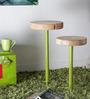 Joda Set of Tables in Acacia Finish by Bohemiana