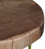 Pagosa Set Of Tables in Natural Sheesham Finish by Bohemiana