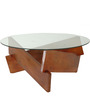 Duvall Solid Wood Coffee Table in Honey Oak finish by Woodsworth