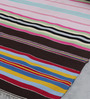 Khadi Multicolour Cotton 78 x 42 Inch Amber Dhurrie