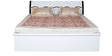 King bed in Black & White Colour by Parin