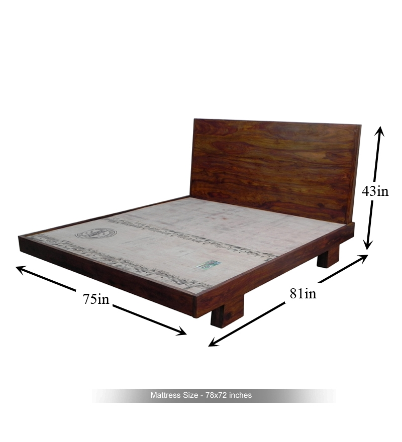 Cayenne Topical King Size Bed By Mudramark Online King