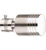 Kipwel Gray Steel 3 x 2 Inch S-102 Curtain Bracket - Set of 2