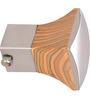 Kipwel Brown Steel 3 x 2 Inch Striking Curtain Bracket - Set of 2