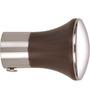 Kipwel Brown Steel 2 x 2 Inch Smart Curtain Bracket - Set of 2