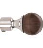 Kipwel Brown Steel 3 x 2 Inch S-902 Curtain Bracket - Set of 2