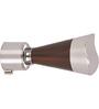 Kipwel Brown Steel 3 x 2 Inch S-911 Curtain Bracket - Set of 2