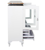 Kitchen Cabinet in White Colour by Penache Furnishings
