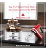 KitchenAid 7 Speed Hand Mixer (Onyx Black) 5KHM720AWOB