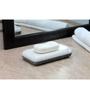 Kleo Black and White Stone Soap Dish