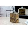 Kleo Brown Stone Soap Dispenser