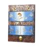Kokoon Canvas 23 x 1.5 x 31 Inch Oil & Metal Work Wall Painting