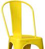 Ekati Metal Chair In Yellow Colour by Bohemiana