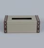 Kraftsmen Grey PU Tissue Box