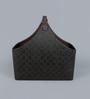 Kraftsmen Premium PU Brown Basket with Buckle Handle