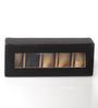 KRIO Designs PU Leather Black 5-case Magnetic Watch Box