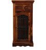 Bentinck Cabinet in Honey Oak Finish by Amberville