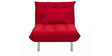 L shaped Sofa bed in red colour by Furny