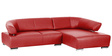 Larlen L Shape Sofa in Red Colour by Madesos