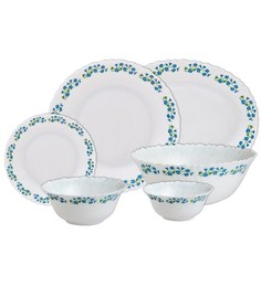 Laopala Diva Juniper Blue Dinner Set - 27 Pcs