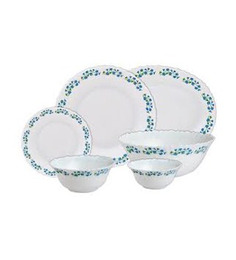 Laopala Diva Lavender Dew Dinner Set -35 Pcs