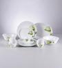 La Opala Diva Ivory Blush Opal Ware 21-piece Dinner Set