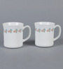 La Opala Flaire Laurel Vine Opal Ware 260 ML Coffee Mug - Set Of 6